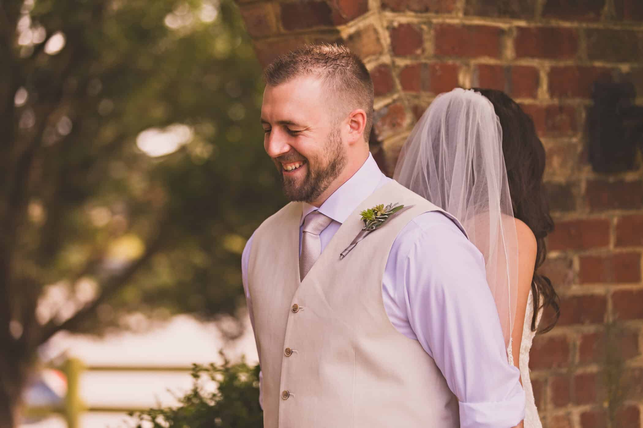 Adam & Brea's Fresh Elegance Wedding at West Manor Estate in Forest, VA | an Entwined Events venue | Megan Vaughan Photography